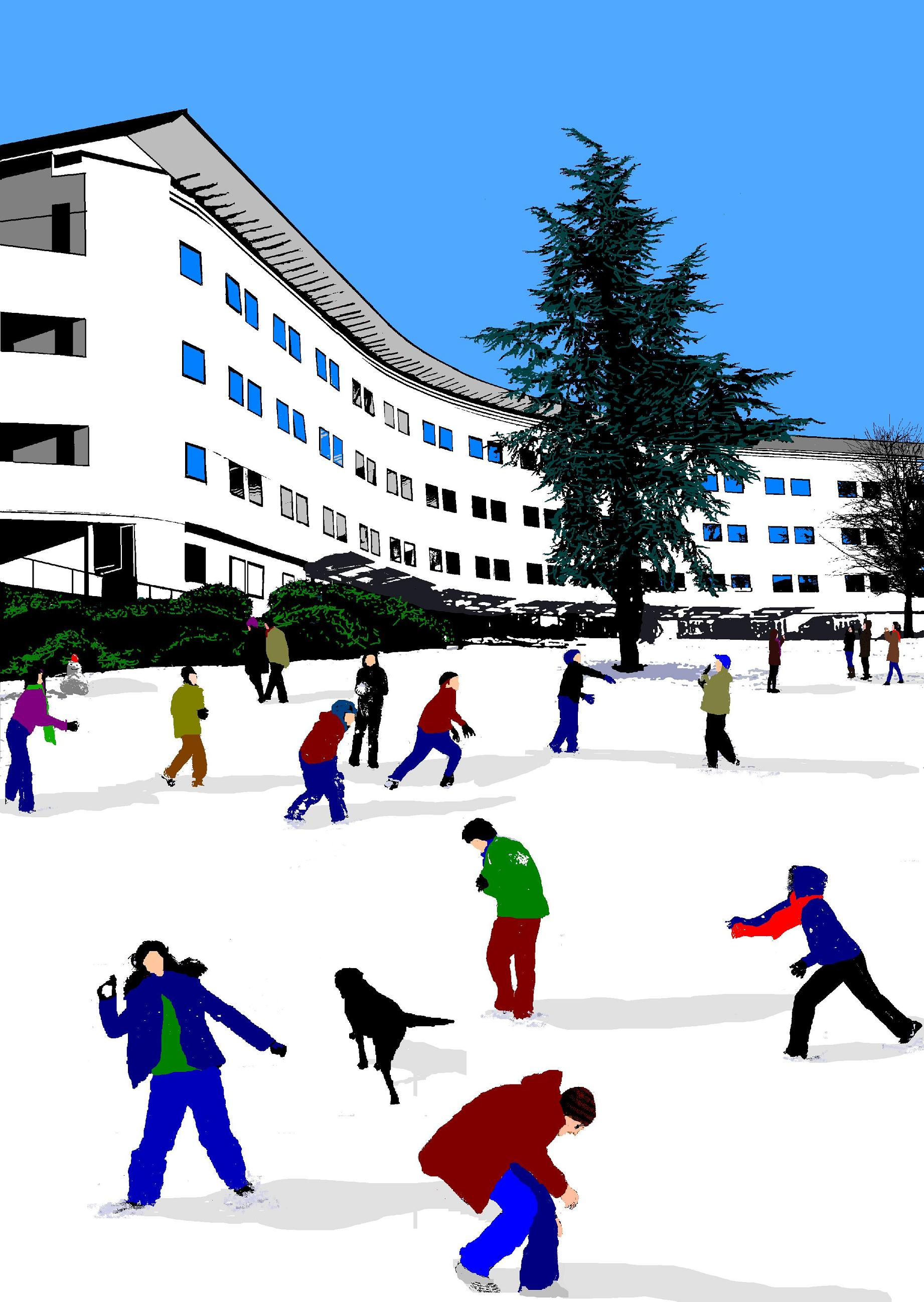 uea winter    christmas cards
