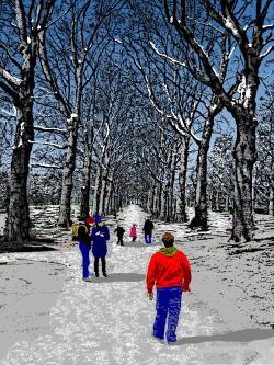 360 Green Park, Winter