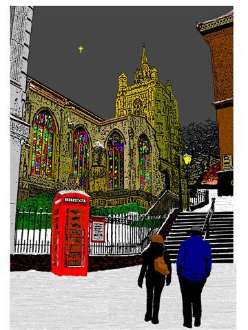 53 - Midnight Mass, St Peter Mancroft, Norwich